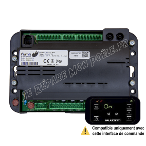 Carte électronique Alpha Fumis 40 avec écran compatible (CPLA060)